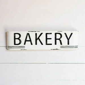 Bakery Marquis 24″ Rustic Tin Sign